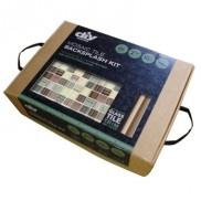 diy network kitchen backsplash kit. diy tile backsplash kit 15ft bamboo diy network kitchen a