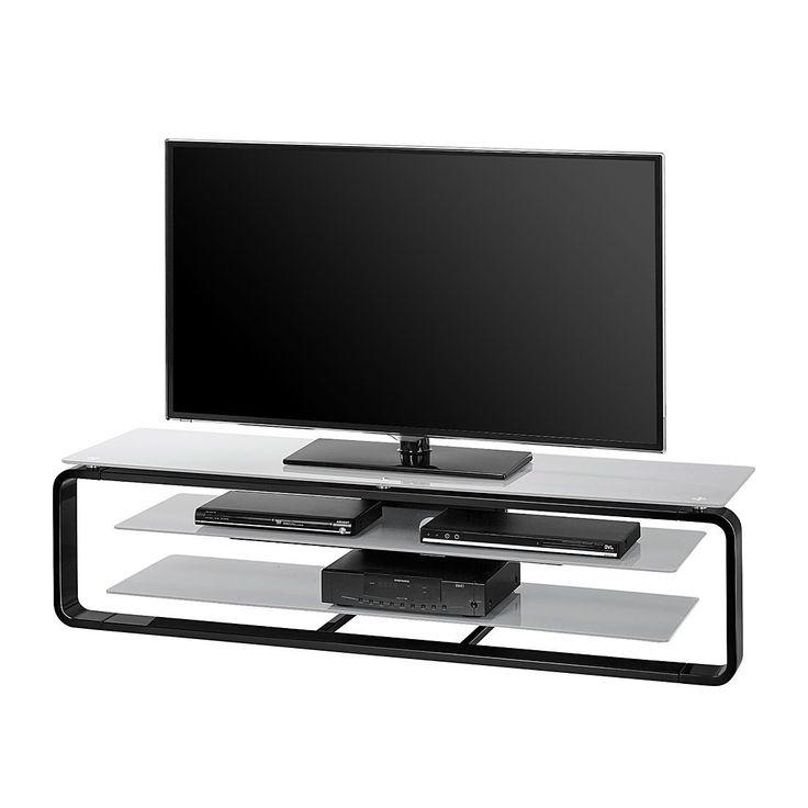 Die besten 25+ Tv rack glas Ideen auf Pinterest Tv möbel beton - wohnzimmer grau schwarz braun