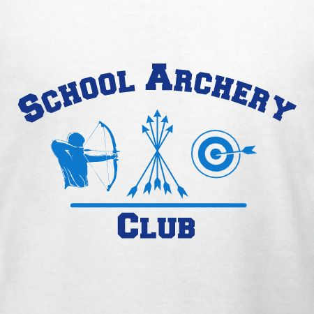 School Archery Club t-shirt template ready for customizing t-shirts for your school's club. Free 10-day shipping in the U.S. and great prices, products, and service.
