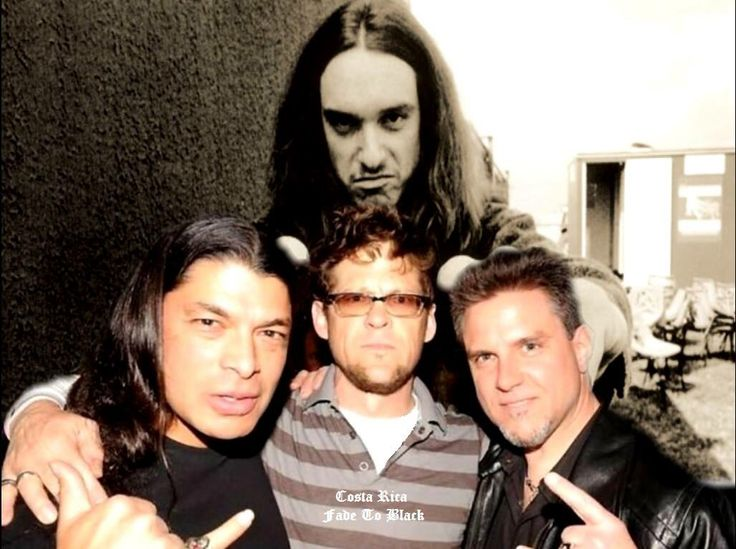 Rob Trujillo- Jason Newsted - Ron McGovney - Cliff Burton