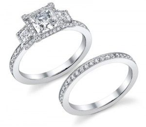 My dream ring ::)) Cinderella Wedding Rings.