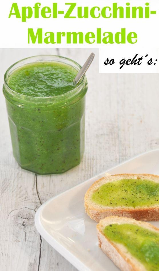 Wohin mit den ganzen Zucchinis aus dem Garten? In eine Apfel-Zucchini-Marmelade! Ganz einfach und sehr lecker! Probiert es mal aus.