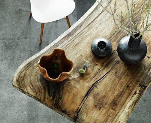 Mesas de diseño en madera exótica – Palosanto
