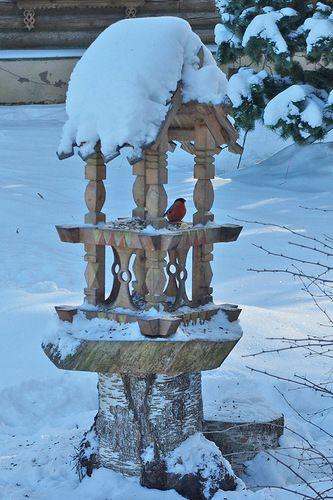 Зимняя сказка в Абрамцевe