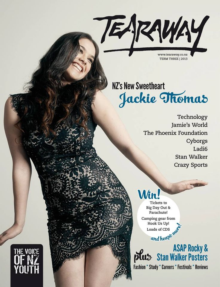 Tearaway - Term 3 | 2013 with X-Factor winner, Jackie Thomas, on the cover!