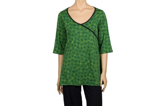 Camiseta ancha estampada 100% algodón #TallasGrandes #Casual #Moda