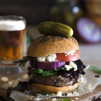 The Classic Cheeseburger de Cuisine et Vins de France