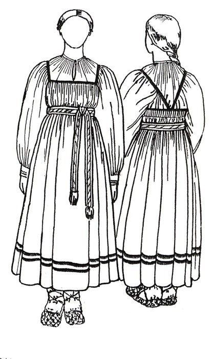 Круговой сарафан-крой и пошив