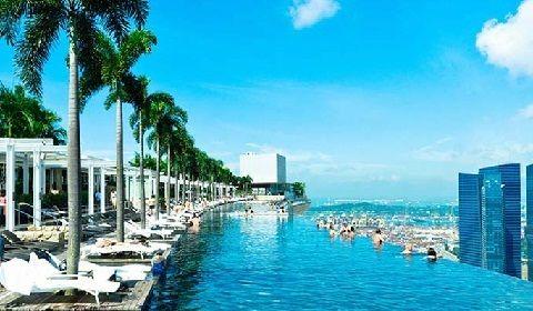 Sands SkyPark, Singapore: Infinity Pool, Restaurants, Obervation Deck & Gift Shop