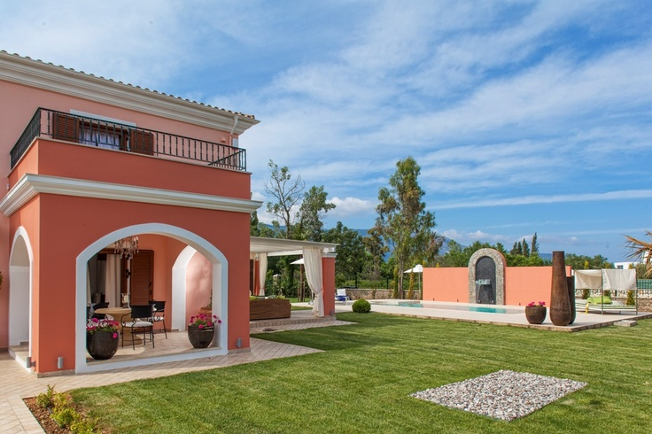 Villa Daphnie, Villa Accommodation In Corfu