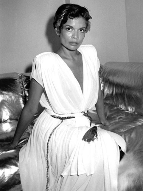 Bianca Jagger At her 30th birthday party, 1980
