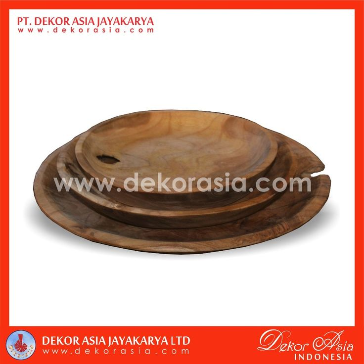 PLATE SET OF 3, TEAK WOOD BOWLS, WOODEN BOWLS, View wood bowls, DEKOR ASIA Product Details from PT. DEKOR ASIA JAYAKARYA on Alibaba.com