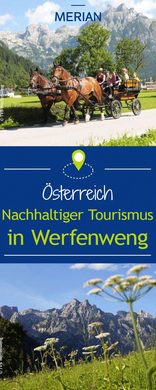 Die Gemeinde Werfenweng in Österreich setzt auf umweltfreundlichen Tourismus. Ein Schwerpunkt des Konzepts ist der autofreie Aufenthalt.