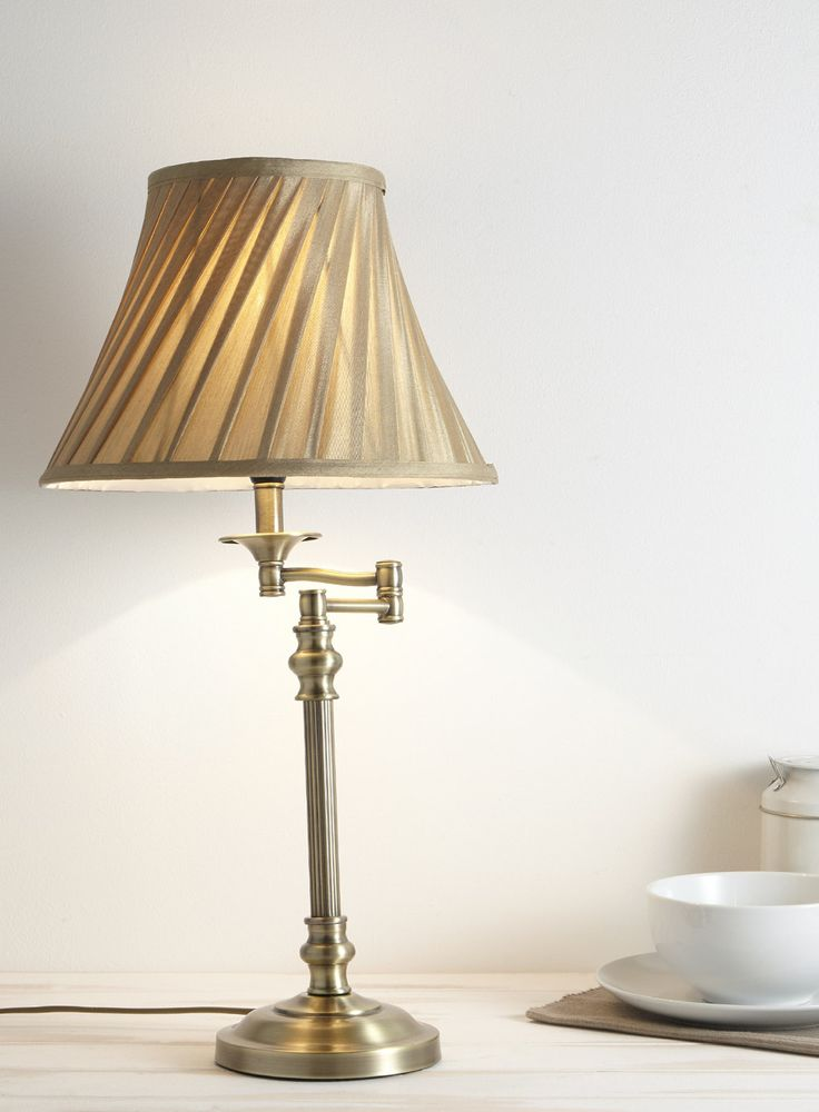 Swing Arm Table Lamp - BHS