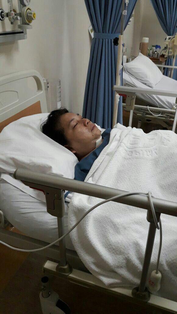 27022017... sekitar jam 9 malam operasi selesai. Puji Tuhan berjalan lancar.  Tinggal pemulihan.  Ternyata tdk sakit, hahaha