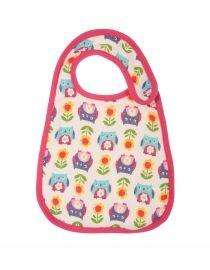 Frugi Lovely #Muslin Bib: #Flower Power #Owls #HerbertandStella #Frugi #Yorkshire #kids #clothes #boutique #shop