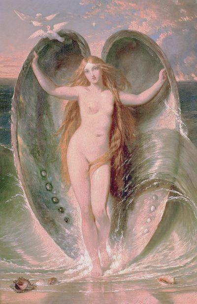Mighty Aphrodite Rising Out Of The Sea Foam | Henry Courtney Selous