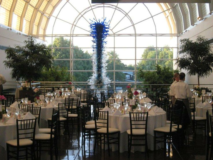 Fabulous Wedding Receptions At The Missouri Botanical Garden   Monsanto  Hall.