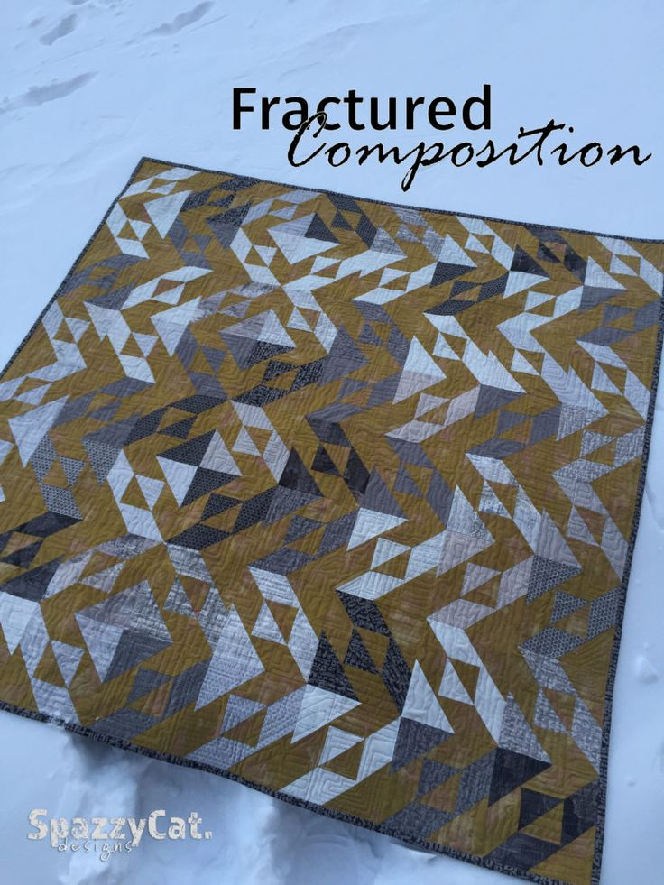 Moda Bake Shop - Fractured Compsotion quilt by richyjr16