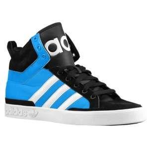 adidas Originals Top Court Mid Big Logo - Men's - Sport Inspired - Shoes -  Black