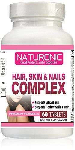 Hair, Skin & Nails Complex Supplement with Amazing Result, Premium ...