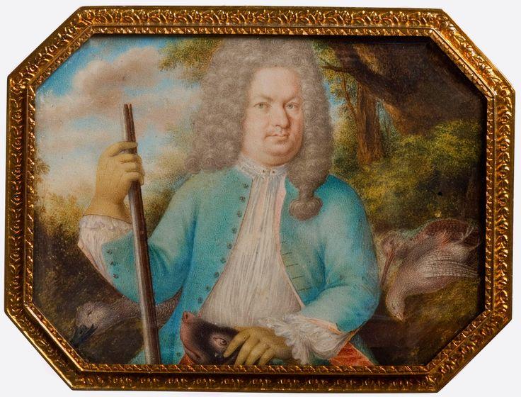 Miniature of Stanislaus Leszczyński by Philippe-Jacques de Loutherbourg, 1724, Ossolineum