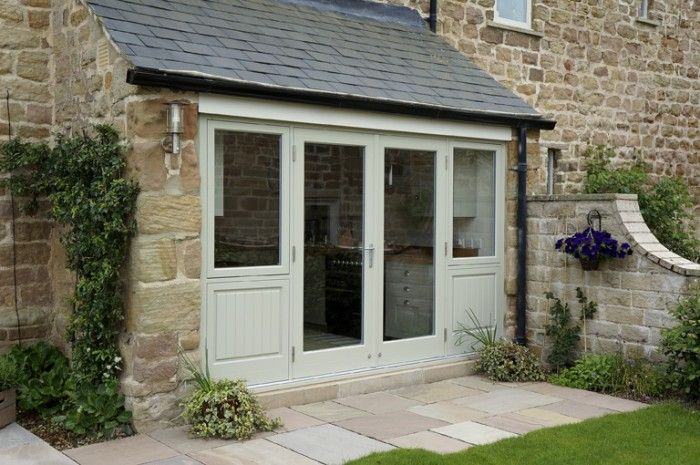 French doors, sidelights and panels