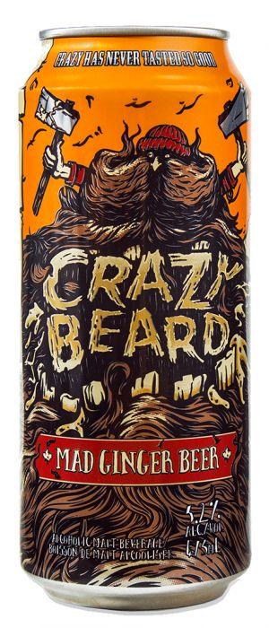 Crazy Beard Mad Ginger Beer