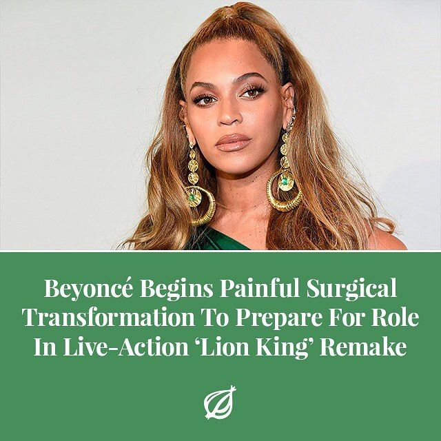 It will take many intensive and frankly excruciating procedures before she gets to where she needs to be but once the radical alterations to her bones musculature and skin are completed you wont even be able to tell that the big cat youre looking at on screen is actually Beyoncé said plastic surgeon Dr. Scott Olmedo adding that the process would begin with breaking and readjusting the pop stars spinal column and pelvic bones to allow her to comfortably walk quadrupedally. Once weve severed…