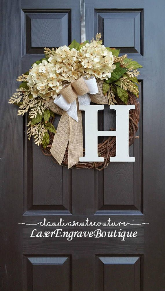 Fall Wreath,Cream Hydrangea Wreath,Summer Wreath,Spring Wreath,Year Round Wreath,Front Door Wreath,Grapevine Wreath,Mothers Day Gift,Wreath for Door, Fall Wreath This is beautiful and wild /rustic wreath The one is pictured is made on 18 inch natural grapevine #afflink