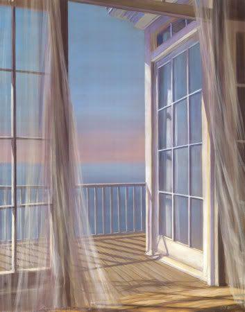 I <3 A Breeze Through White Curtains