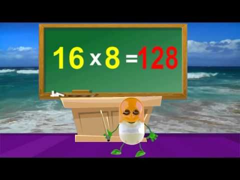 Tutorial | 16 Times Table | How To multiply | Kids Songs  Nursery Rhymes In English With Lyrics - http://best-videos.in/2012/11/10/tutorial-16-times-table-how-to-multiply-kids-songs-nursery-rhymes-in-english-with-lyrics/