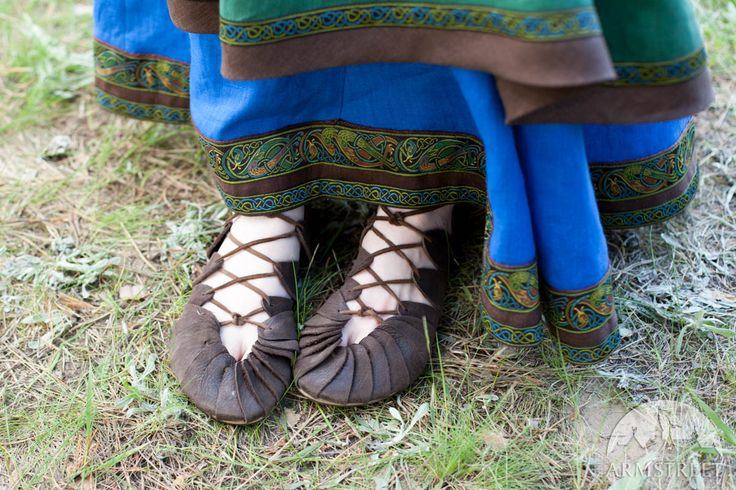 "Sandali di pelle ""Skjaldmaer"""