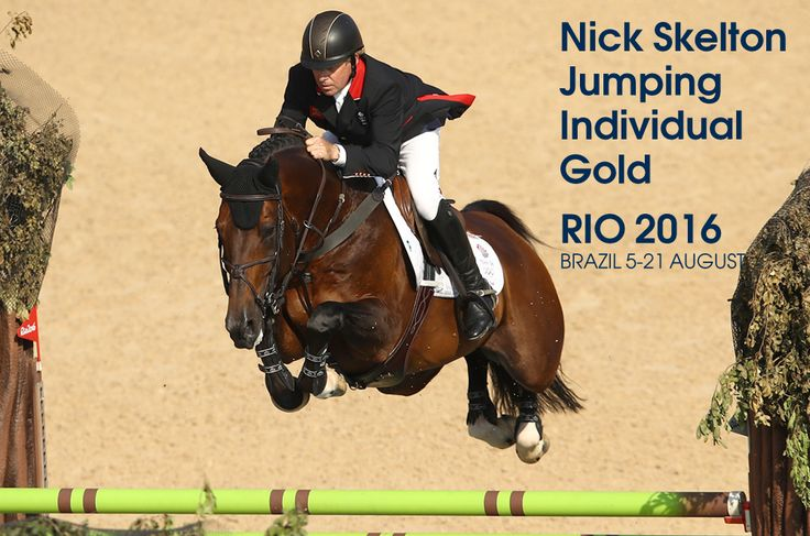 Show jumper Nick Skelton became Britain's second-oldest Olympic gold medallist in his seventh Games. The 58-year-old, who initially retired 16 years ago after breaking his neck in two places, claimed individual gold after a six-way jump-off.