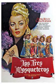 Pelicula de 1948 sobre Los Tres Mosqueteros basada en el libro homonimo de Dumas.