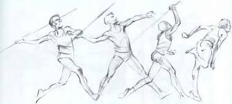 Image result for running gesture drawing