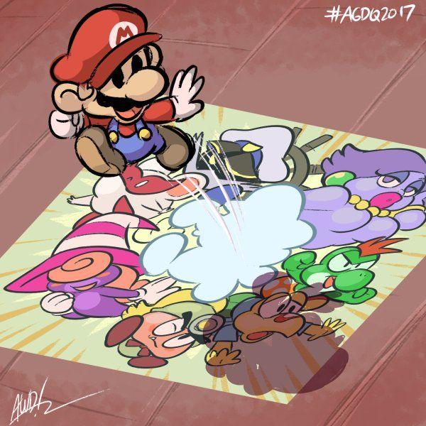 Paper Mario: Thousand Year Door #AGDQ2017 @GamesDoneQuick