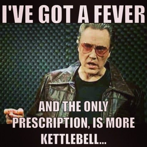 Image result for kettlebell meme