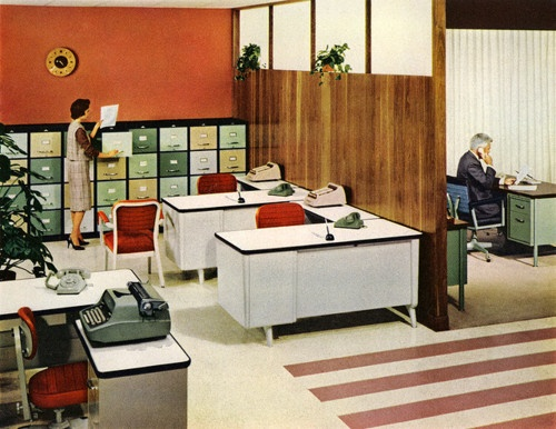 59 Best Images About 1960s Work Amp Office On Pinterest