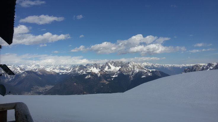Colere ski area - Rifugio Chalet Plan del Sole - Val di Scalve - Bergamo - Lombardia - Orobie