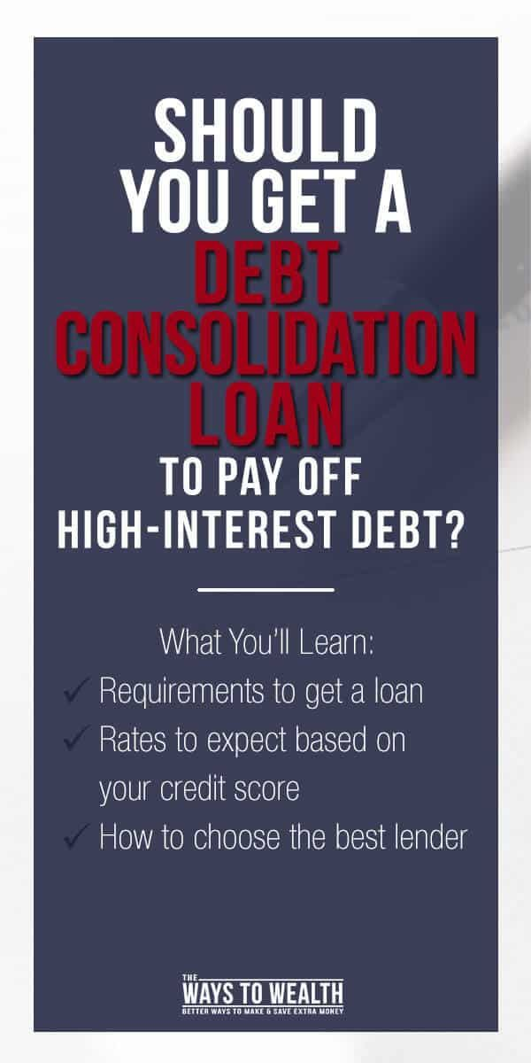 Personal Loans For Debt Consolidation A Good Idea Debt Consolidation Loans Loan Consolidation Personal Loans