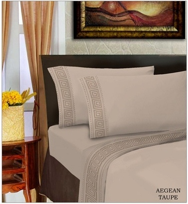 Aegean Comfort Bed Sheet Set- 6 Colors Available - Save 76% Just $29
