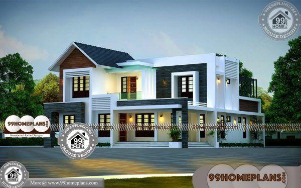 New Elevation Design Plans 90 Two Storey Small House Plans Online House Front Design House Plans With Photos Kerala House Design