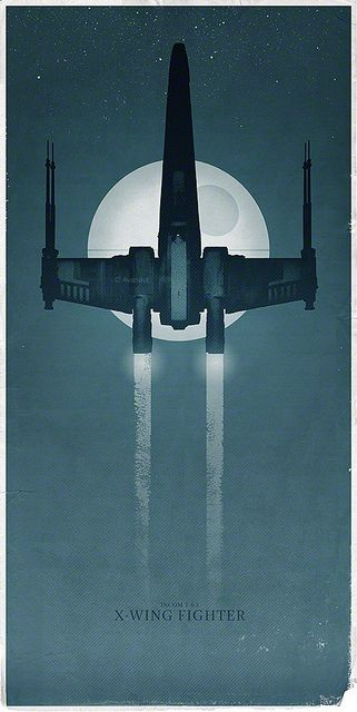 The X-Wing Fighter on a Mission to the Death Star | Flickr - Photo Sharing!