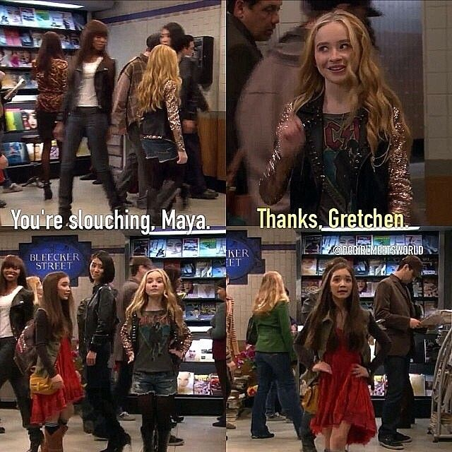 Girl meets friendship quotes