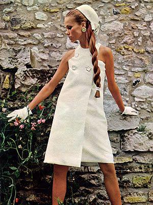 1967 Lanvin Vogue Paris - White Dress
