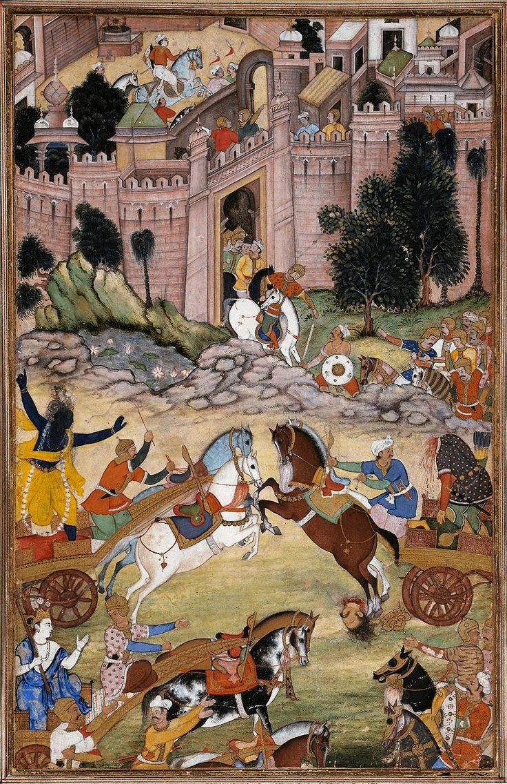 Krishna Kills Shrigala (1585)