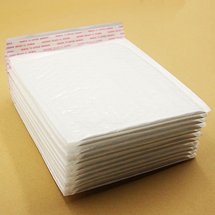 10 PCS 170*180mm Étanche Blanc Perle Film Bulle Enveloppe Postale Sacs Anti-choc Anti-statique Anti-pression