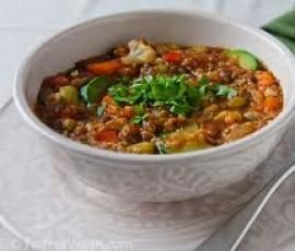 Recipe Quick Healthy Lentil and Vegetable Stew by Trish B - Recipe of category Main dishes - vegetarian