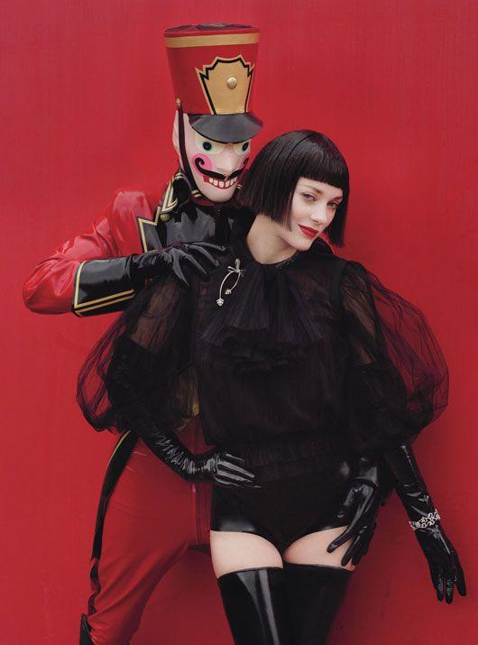 Marion Cotillard for W December 2012 by Tim Walker - #TimWalker ☮k☮